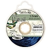 Rattail Cord 1.5mm 20 Yds With Re-useable Bobbin Dark navy Blue